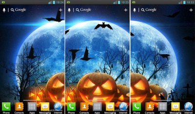 Free Halloween Android Live Wallpapers - [Animated]