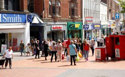 Where are Britain's healthiest high streets?