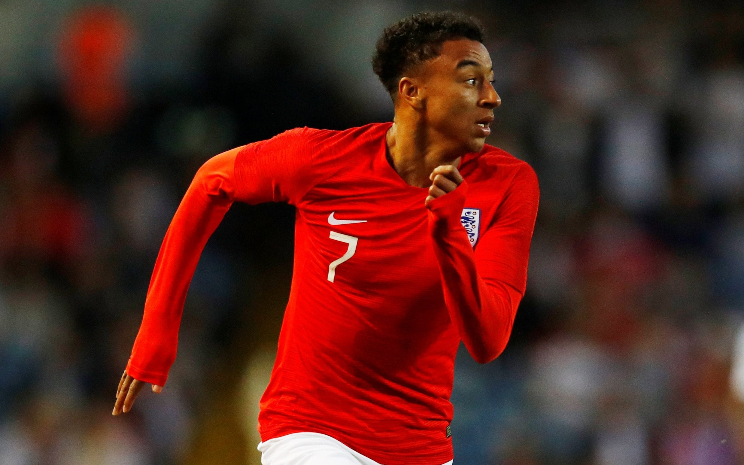 England s Jesse Lingard  the  naughty but funny guy  says he is     Jesse Lingard runs for England