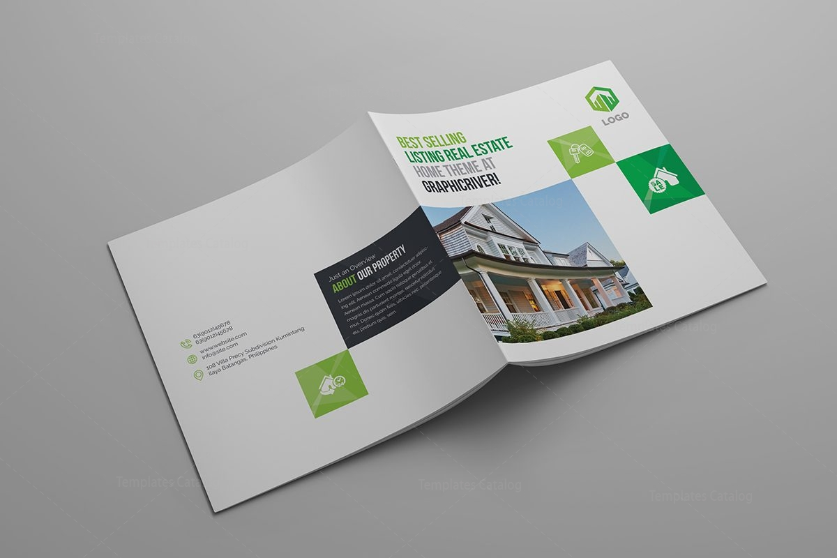 Real Estate Brochure Templates 000624   Template Catalog Real Estate Brochure Templates 3