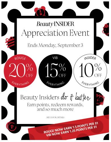Sephora Beauty Insider Appreciation Event 2018 - Save 10% ...