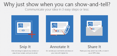 Office Snip - Create, Annotate and Narrate Screenshots | Windows 10 Tutorials