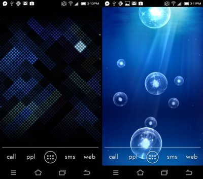 Download Galaxy S3 Live Wallpapers: Deep Sea and Luminous Dots