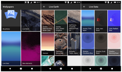 The Groove Wallpaper in Google Pixel 3 Live Wallpaper APK dances to your music [Android 6.0, 7.0 ...