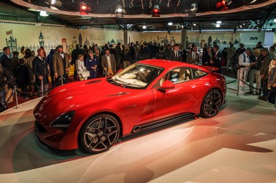 TVR to Showcase Stunning New Griffith Sports Car at Motor Show in May