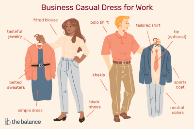 Images of Business Casual Dress for the Workplace