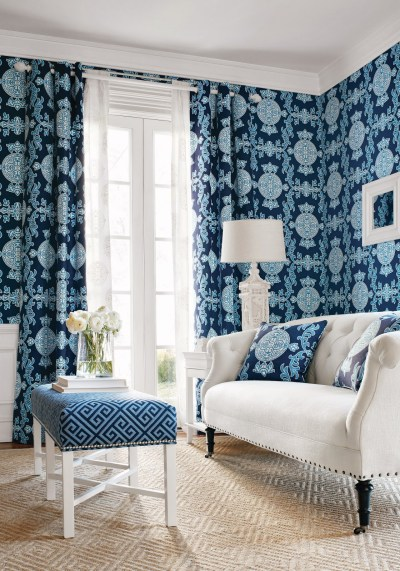 New Wallpaper Introductions: Thibaut Enchantment Collection | The English Room