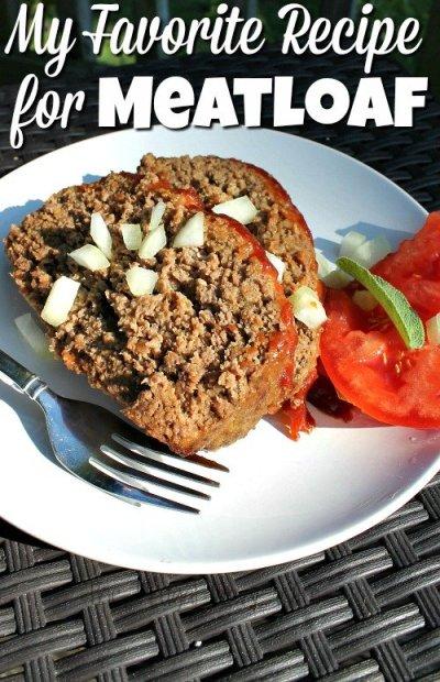 My Favorite Meatloaf Recipe — Dishmaps