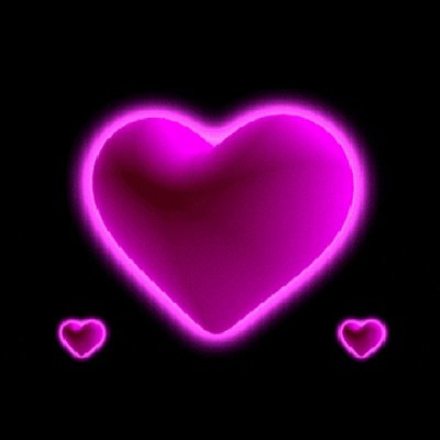 Purple Hearts Live Wallpaper