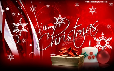 HD desktop illustration of Christmas