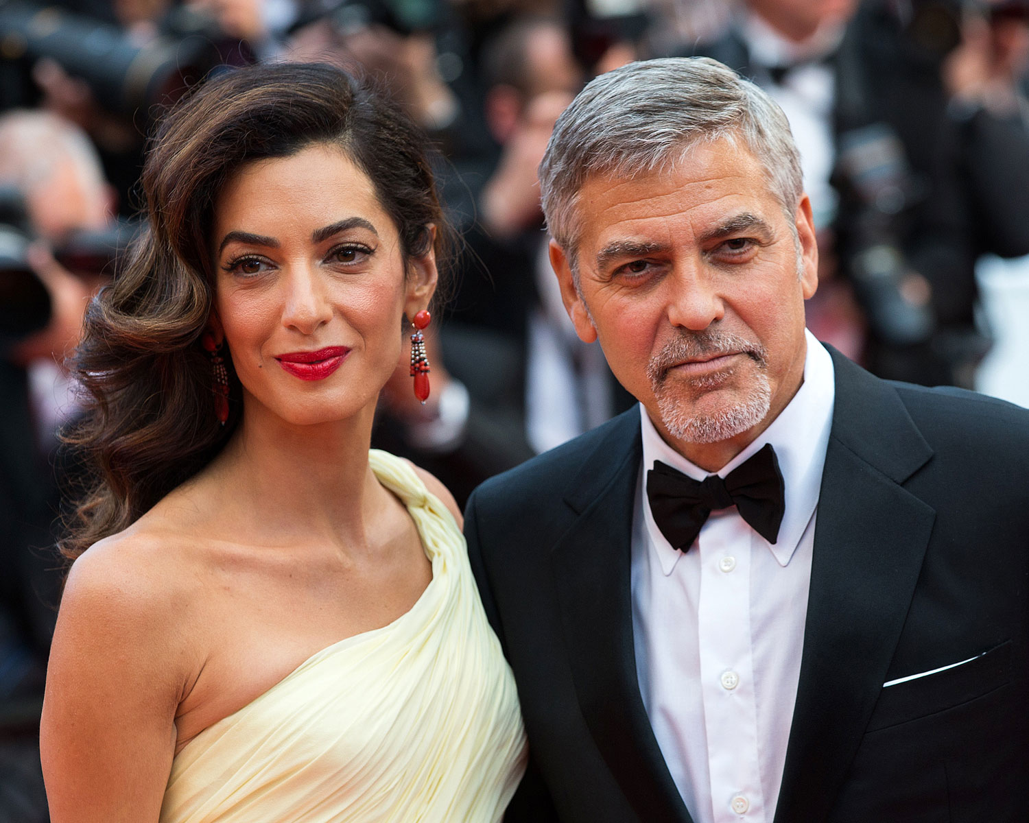 Amal and George Clooney Donate  1 Million to Fight Hate Crimes Amal George Clooney
