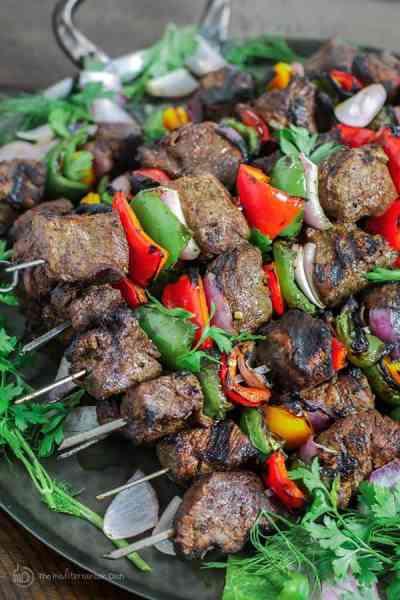 Best Beef Shish Kabob Recipe (How-To!)   The Mediterranean Dish