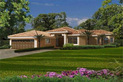 Florida Style Home with 3 Bdrms, 2870 Sq Ft | Floor Plan ...