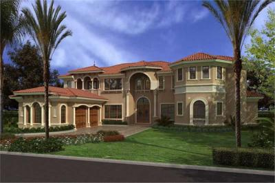 California Style Home with 7 Bdrms, 7502 Sq Ft | House ...