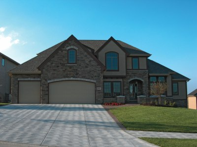 House Plan #120-2078 : 3 Bedroom, 1991 Sq Ft Country - French Home | TPC
