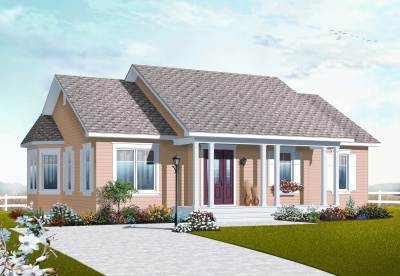 Small Country Ranch House Plans - Home Design 3132
