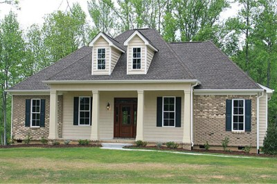 Country House Plan #141-1259 with Photos: 3 Bdrm, 1641 Sq Ft Home Plan