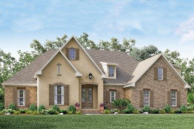 Acadian House Plan #142-1154: 4 Bedrm, 2210 Sq Ft Home Plan