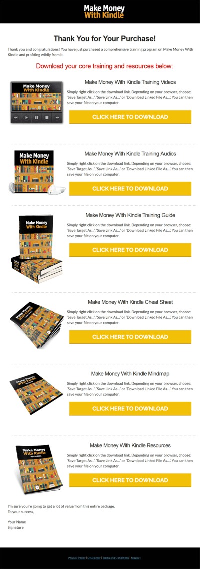 Make Money with Kindle Ebook and Videos Package MRR