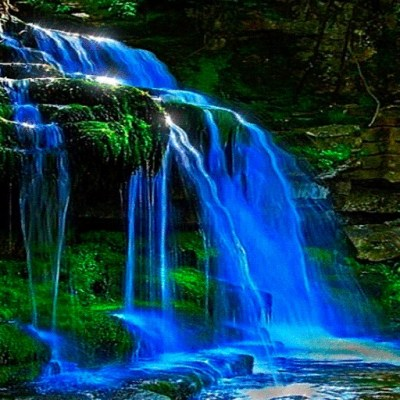 Wavy Waterfall Live Wallpaper