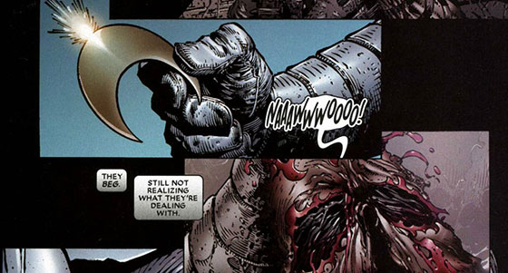 8 Essential Facts About Marvel s Mentally Unstable Hero  Moon Knight     bushmaster face jpg