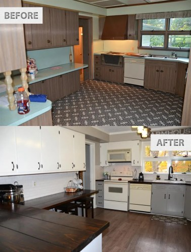 kitchen remodel on budget kitchen remodel budget Farmhouse Renovation Kitchen
