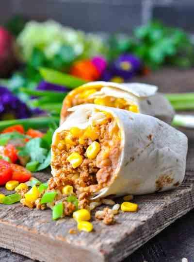 The Easiest Burrito Recipe - The Seasoned Mom