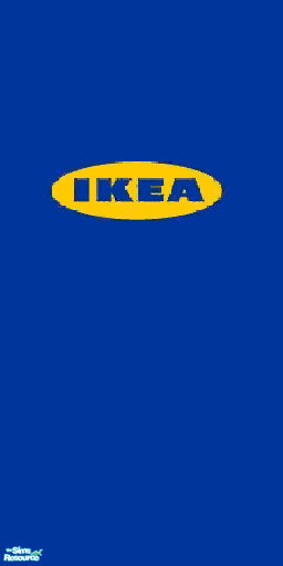 lolo1037's IKEA logo wallpaper