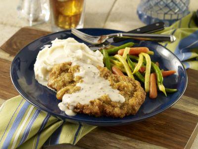 Chicken Fried Steak with White Gravy Recipe