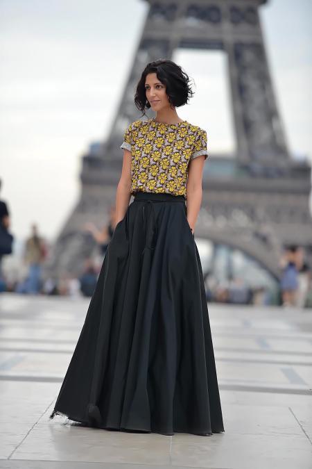 Yasmin Sewell Paris Fashion Week