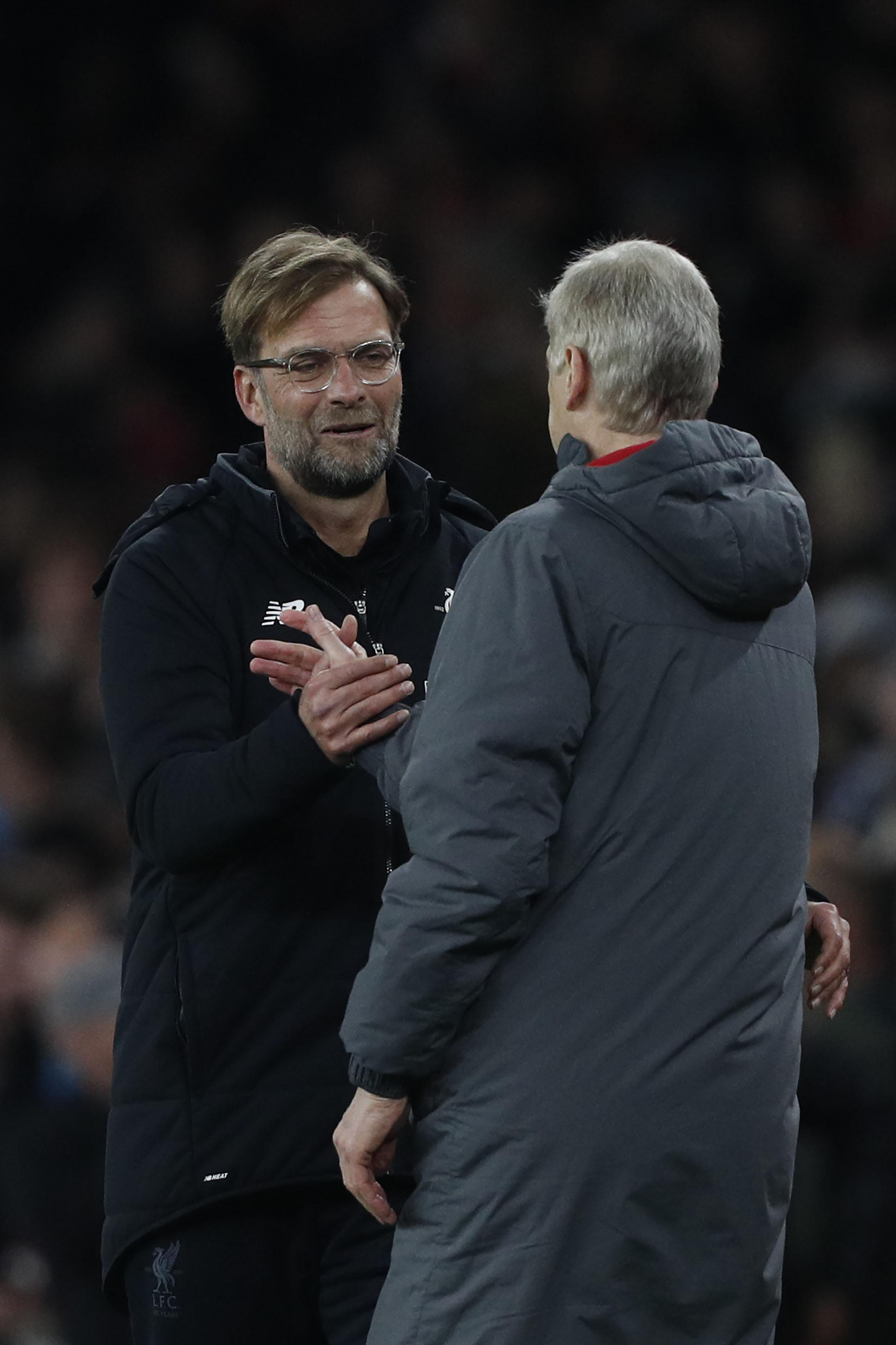 Arsene Wenger enters record-equalling 810th game as a Premier League boss by recalling his first ...