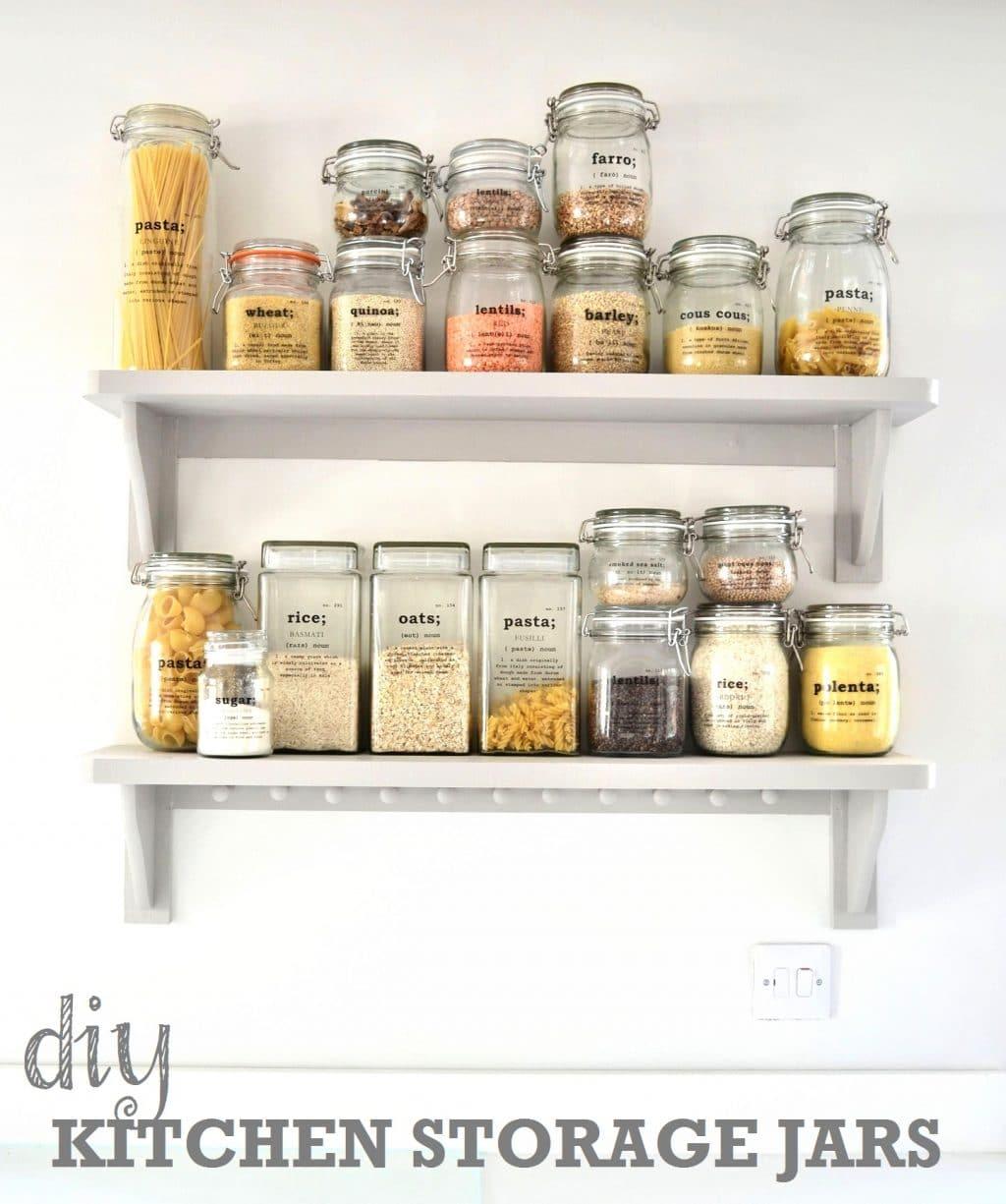 diy kitchen storage ideas getting organised in the kitchen diy kitchen ideas DIY Kitchen Storage Ideas Getting Organised in the Kitchen