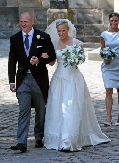The White Room Zara Phillips Wedding Dress from The White Room