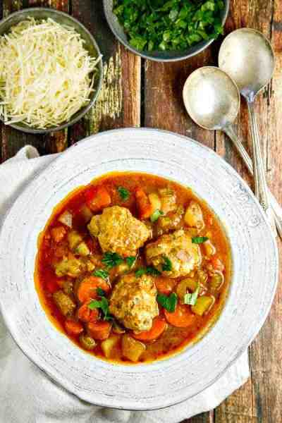 Albondigas Soup • The Wicked Noodle