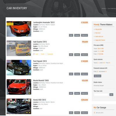 Car Dealer Automotive - 카 딜러 자동차 워드프레스 테마 - 워드프레스 기본, 테마