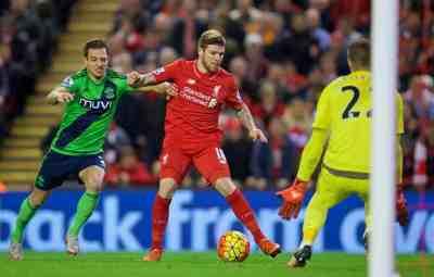 Liverpool 1-1 Southampton: Player Ratings
