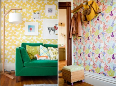 Decorate with amazing removable wallpapers | This Little street : This Little street