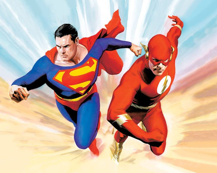 9 Greatest Superman vs  Flash Races of All Time  Superman vs  The Flash  by Alex Ross  Alex Ross