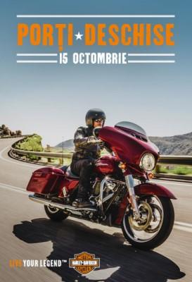 Porţi deschise la Harley-Davidson Bucureşti - 15 octombrie 2016