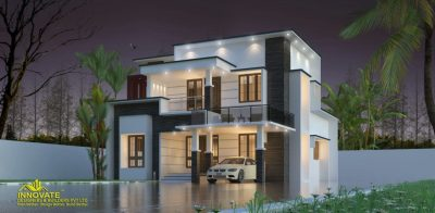 1675 Square Feet 3 BHK Double Floor Modern Contemporary Home Design and Plan - Home Pictures ...
