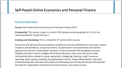 tjTODAY : Online Economics and Personal Finance course now ...