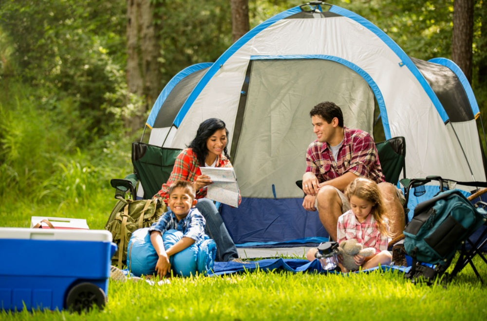 Camping gear  27 essentials for camping with kids