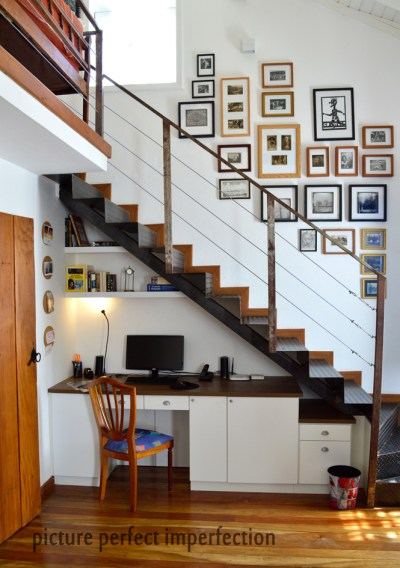 15 Space-Saving Under Stairs Home Offices You Need To See