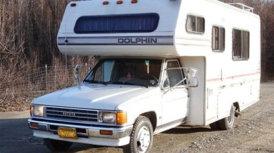 1988 Toyota Dolphin 22RE Manual Motorhome For Sale in Wasilla, AK
