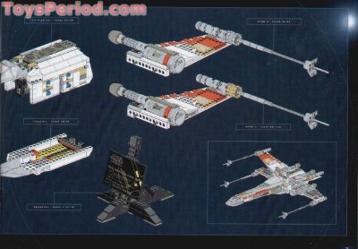 LEGO 7191 X-Wing Fighter - Ultimate Collector Series UCS Set Parts Inventory and Instructions ...
