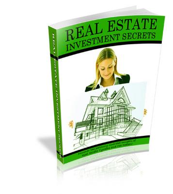 REAL ESTATE INVESTMENT SECRETS (MRR) - Download eBooks