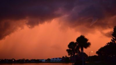 Tornado warning: Funnel cloud, possible twister reported near Orange-Osceola line - Orlando Sentinel