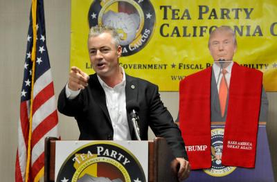 GOP candidate for governor Travis Allen calls on Trump administration to sue California over ...