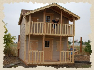 2 Story Kids Playhouse Plans 3- Story Playhouse, do it ...
