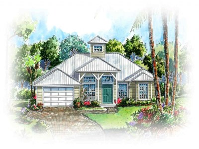 Cracker Style Homes Old Florida Style Home Plans, old ...